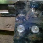 Замена роликов сдвижного механизма тента
