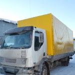 Изготовление грузового тента на автомобиль DAF LF