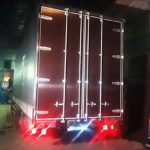 Изготовление ворот на грузовик Scania в Москве