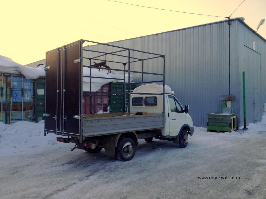 """Изготовление каркаса и ворот на бортовой грузовик """"Газель"""" в Москве"""