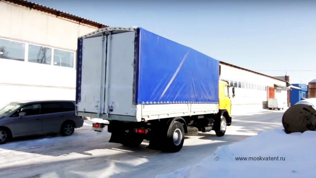 Тент на грузовик МАЗ в Москве