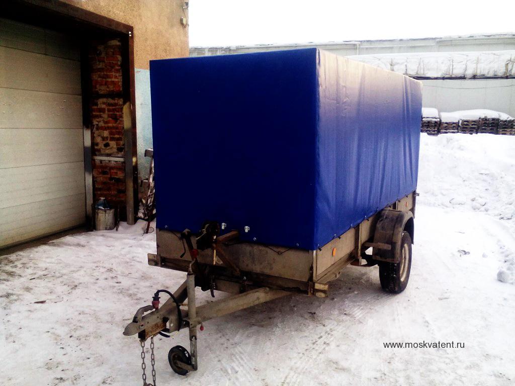 Изготовление тента на легковой прицеп в Москве