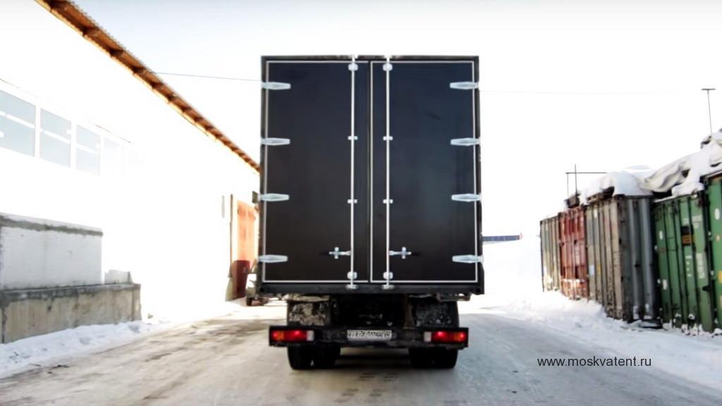 Изготовление и установка ворот на грузовой автомобиль Ford 2532 в Москве