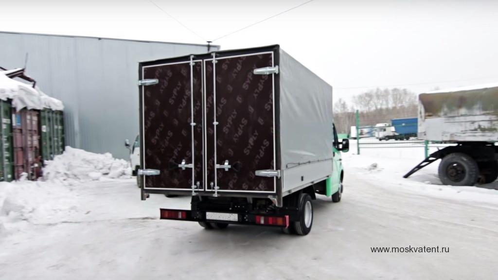 Установка ворот на грузовик «Газель-Next» в Москве