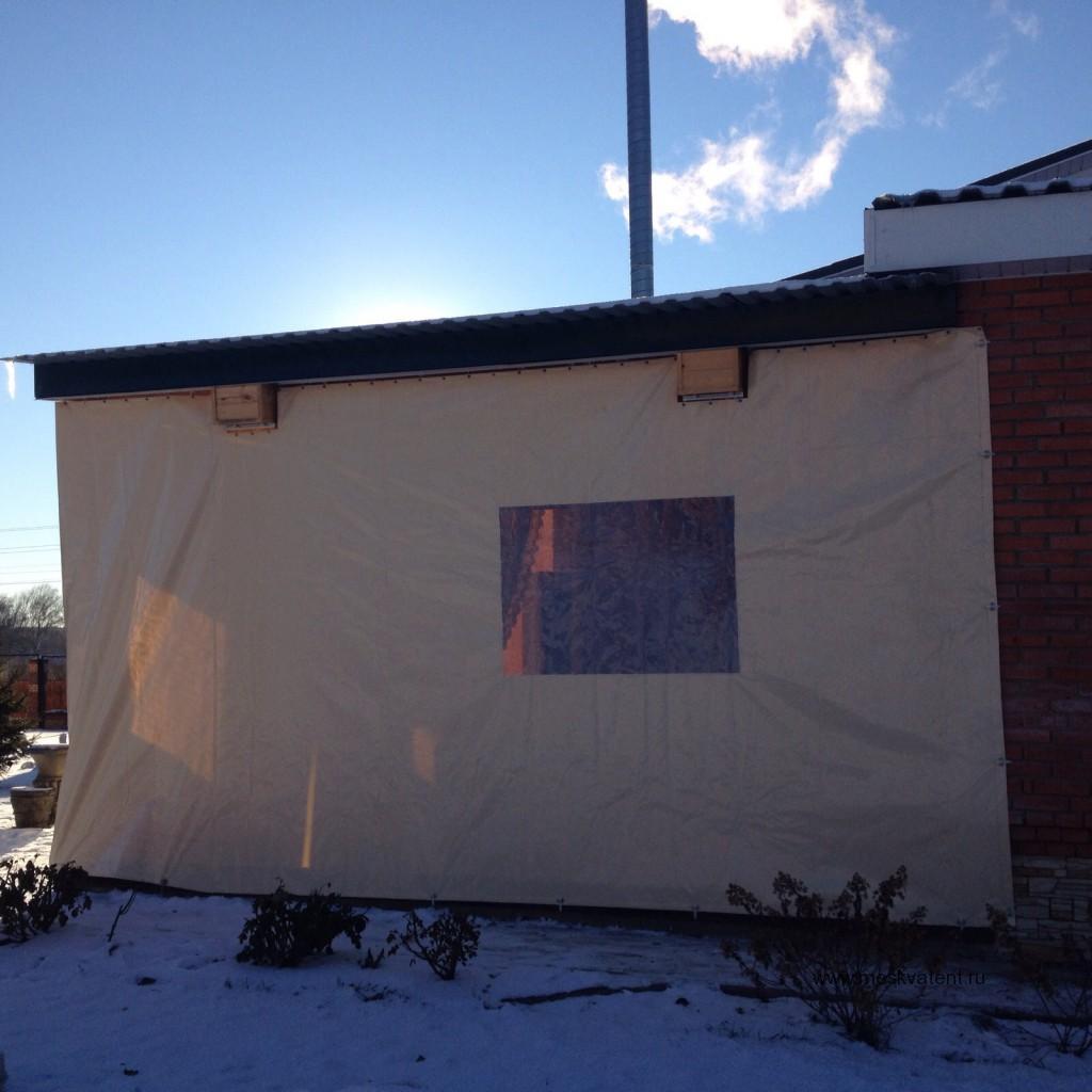 Защитные ПВХ-шторы для веранды