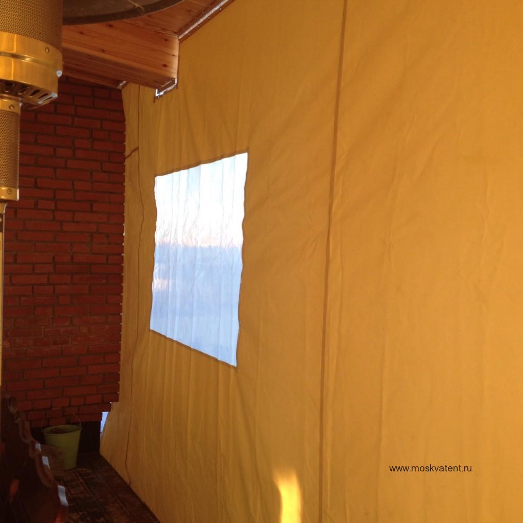 ПВХ-шторы для веранды