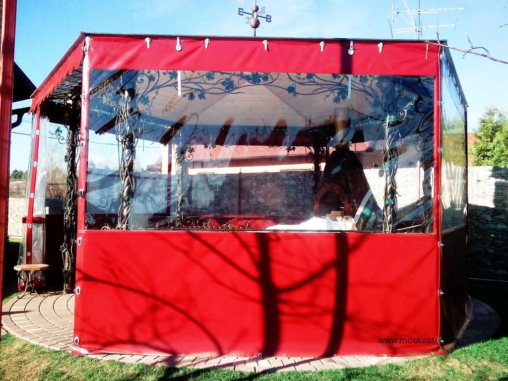 Защитные шторы для беседки