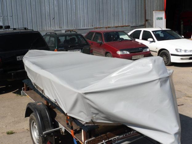 Фото транспортировочного тента на лодку пвх
