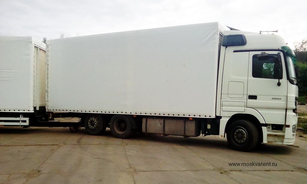Тент на Mercedes Actros 2544 и прицеп в Москве