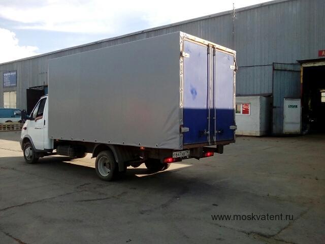 Изготовление тента на грузовик «Газель» длиной 4,2 м., высотой 2,2 м.