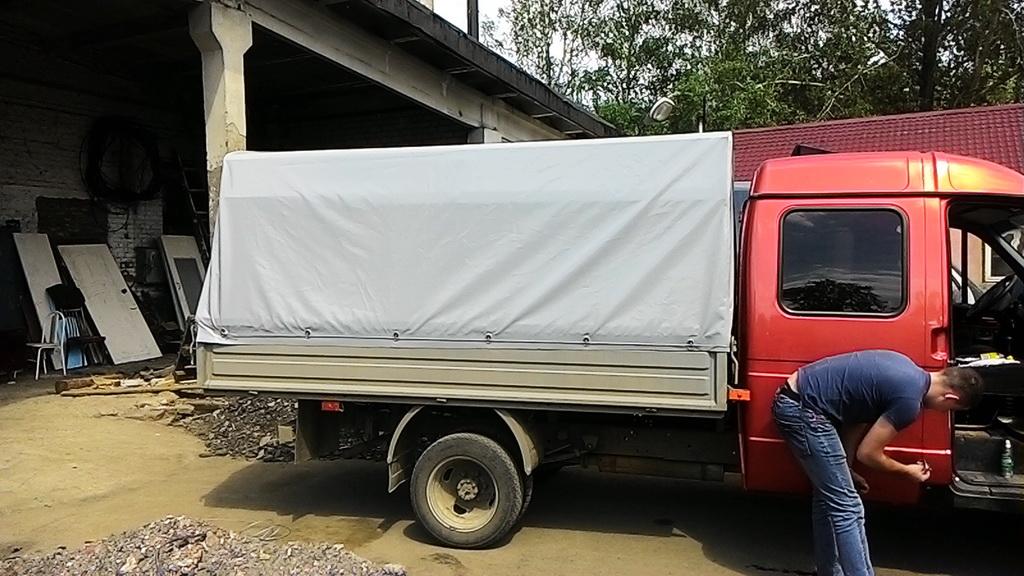 Тент на ГАЗ-33023