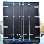 Изготовление и установка задних распашных ворот на полуприцеп Krone в Москве под заказ