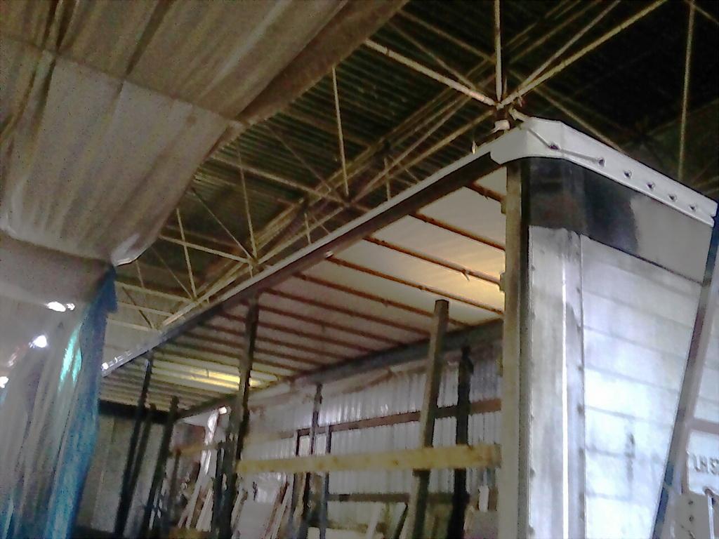 Изготовление крыши на полуприцеп Koegel