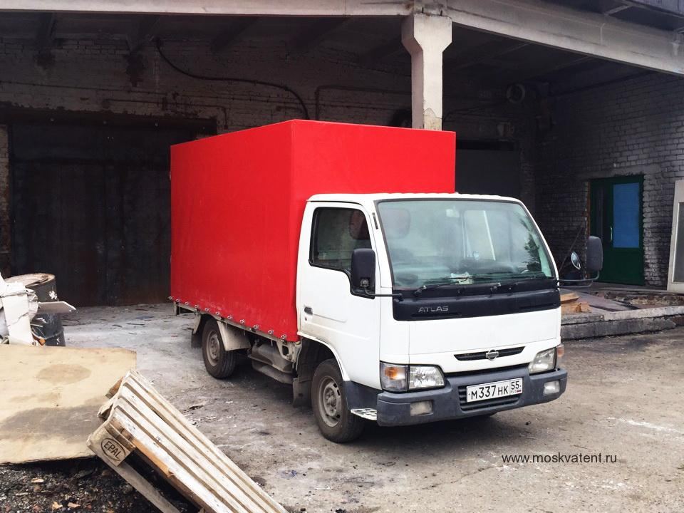 Изготовление тента на грузовик Nissan Atlas в Москве