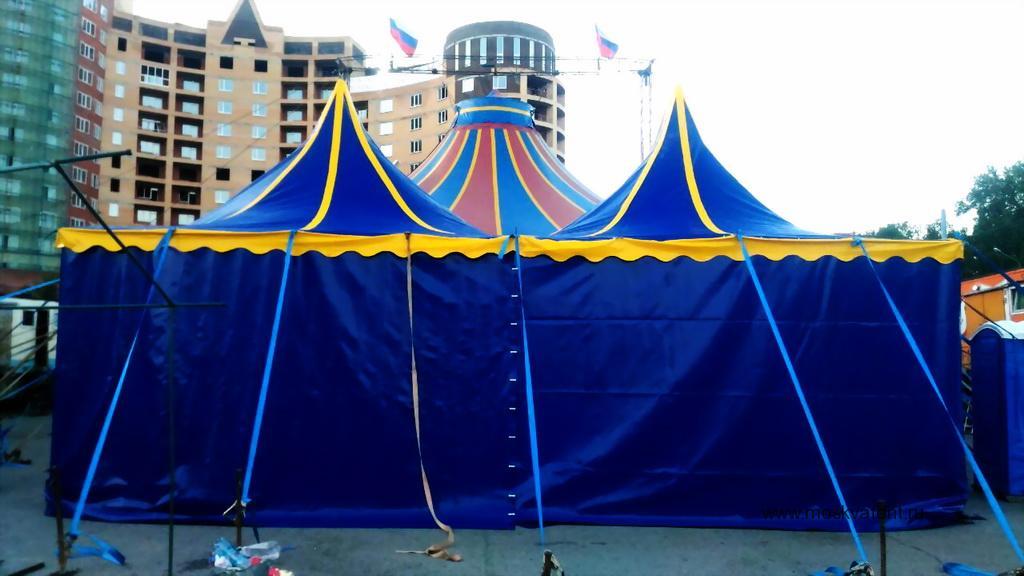 Шатер для цирка-шапито в Москве