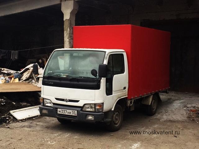 Тент на грузовик Nissan Atlas, изготовлен на заказ в Москве