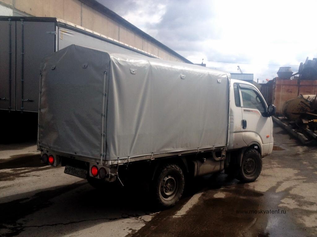 Изготовление тента на грузовик Kia Bongo 3 в Москве на заказ