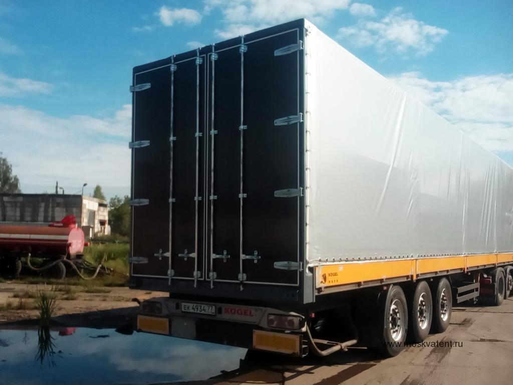 Изготовление и установка ворот на полуприцеп Koegel Maxx