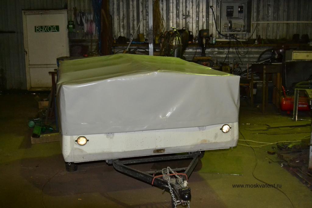 Изготовление тента на прицеп «Скиф-М1»