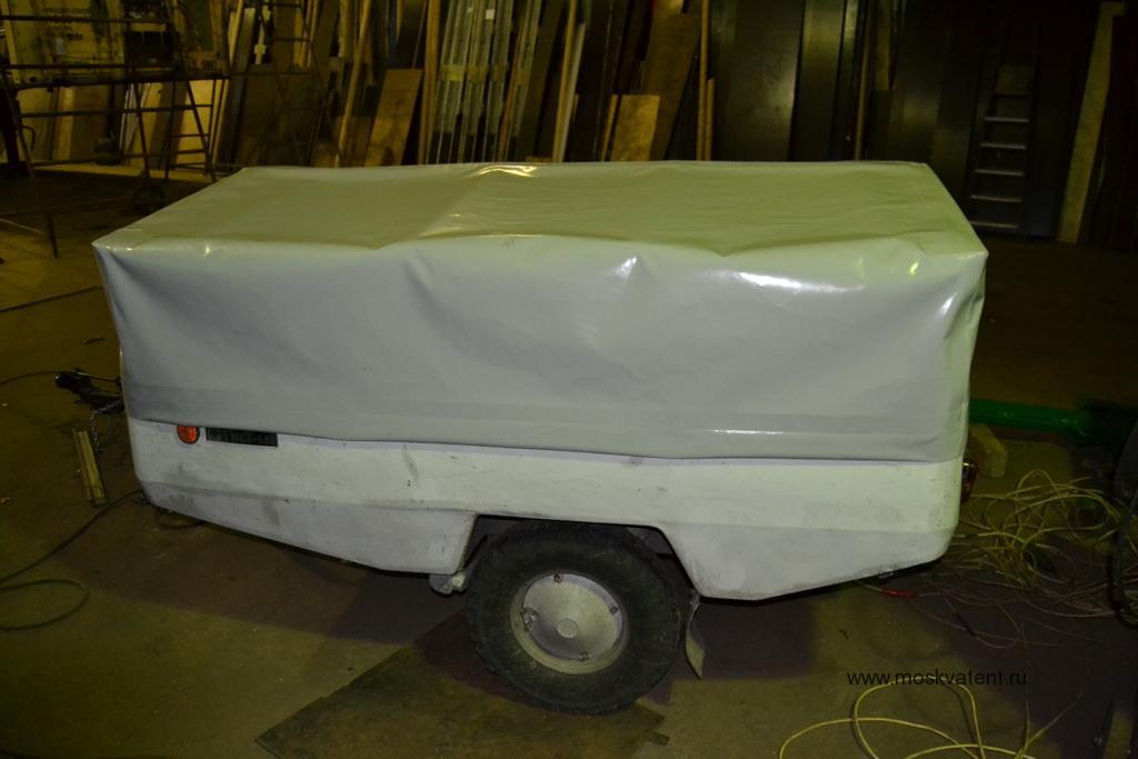 Тент для легкового прицеп «Скиф-М1» в Москве на заказ