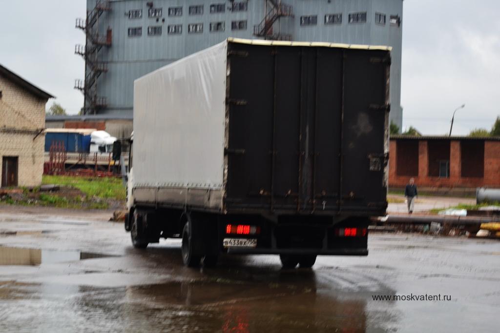 Тент на грузовое авто MAN TGL 7.150