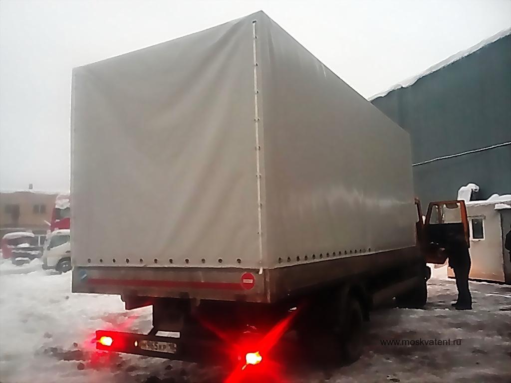 Изготовление тента на грузовик «КАМАЗ» в Москве на заказ