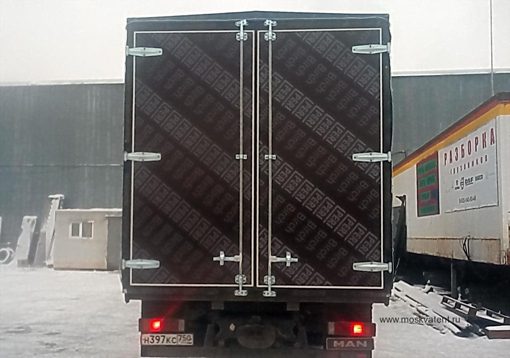 Задние распашные ворота на грузовик Mercedes