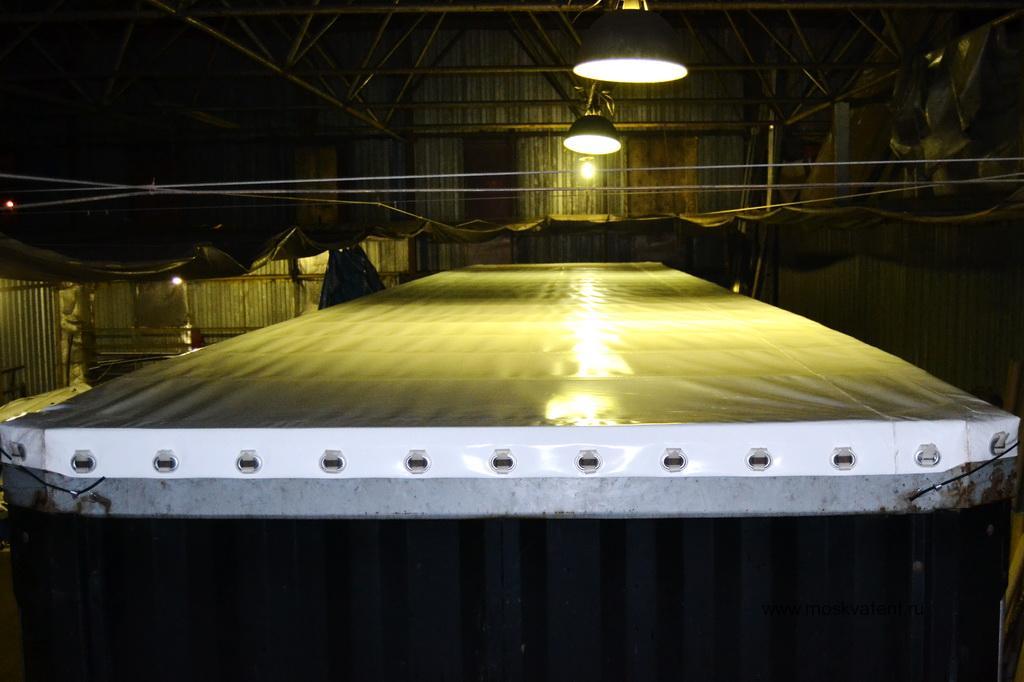 Изготовление и установка сдвижной крыши на прицеп Samro