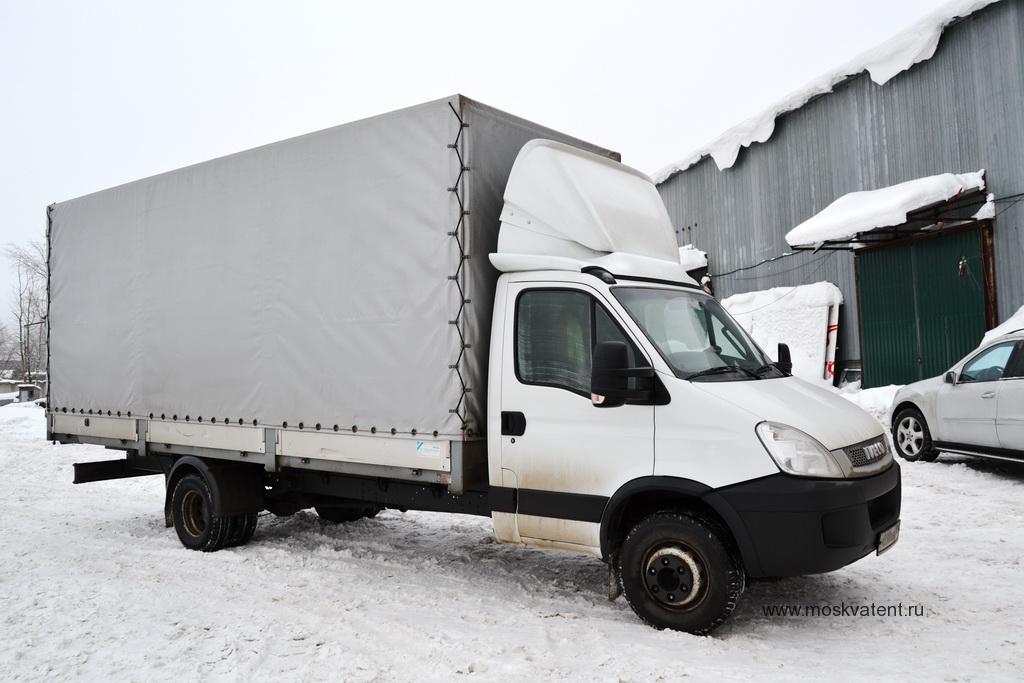 Тент для грузовика Iveco 70c15 с чехлением на эспандер