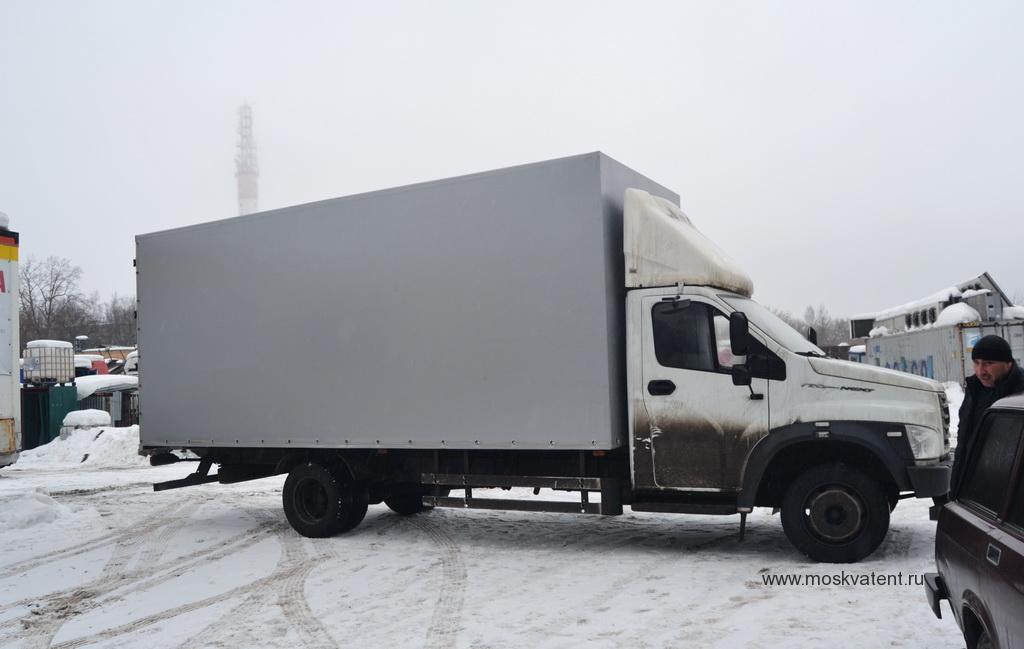 Изготовление тента на грузовик «Газон-Next»