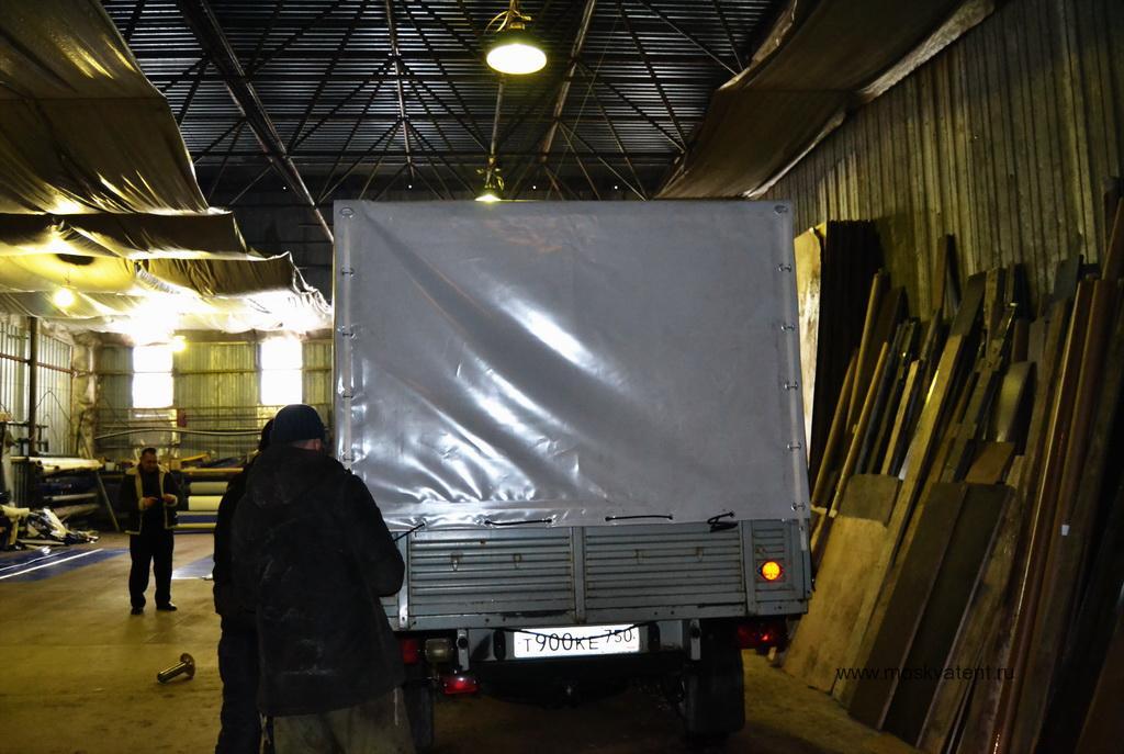 Изготовление тента на УАЗ-Карго