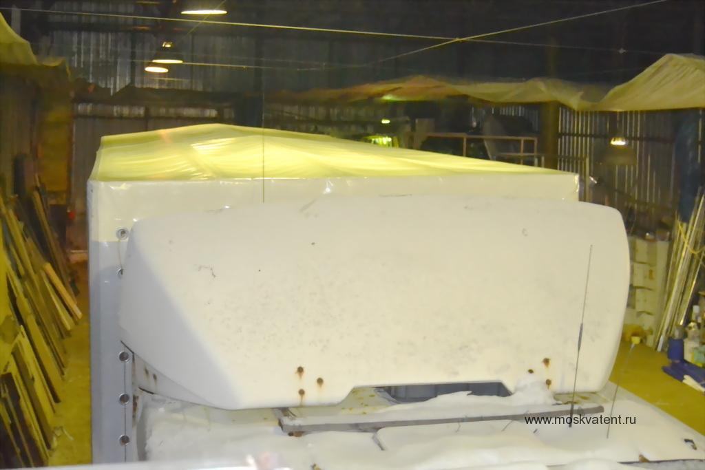 Крыша тента грузовика МАЗ