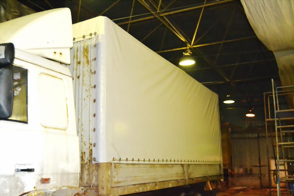 Тент на грузовой автомобиль МАЗ