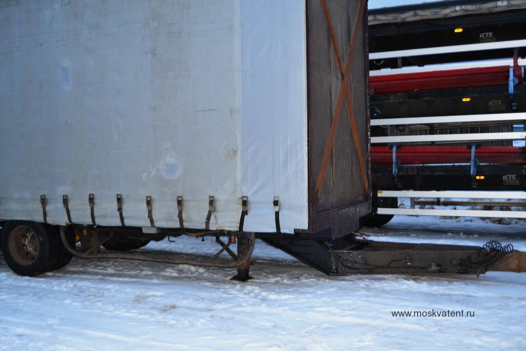 Увеличение длины тента грузового прицепа