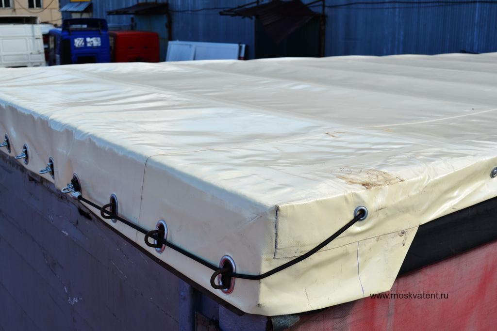 Замена тента крыши грузового прицепа Schmitz