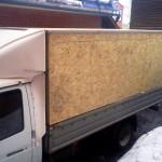 Каркас с обшивкой на грузовик «Газель»