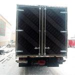 Задние распашные ворота на грузовик Man