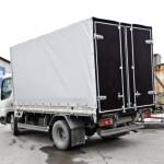 Изготовление тента, каркаса и ворот на грузовик «Mazda» в Москве