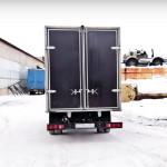 Изготовление ворот на грузовик «Газель» с высоким каркасом