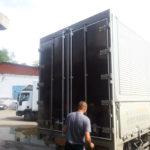 Изготовление ворот на грузовик Hyundai HD 78